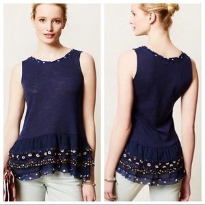 Anthropologie   One September ChaCha Tiered Top